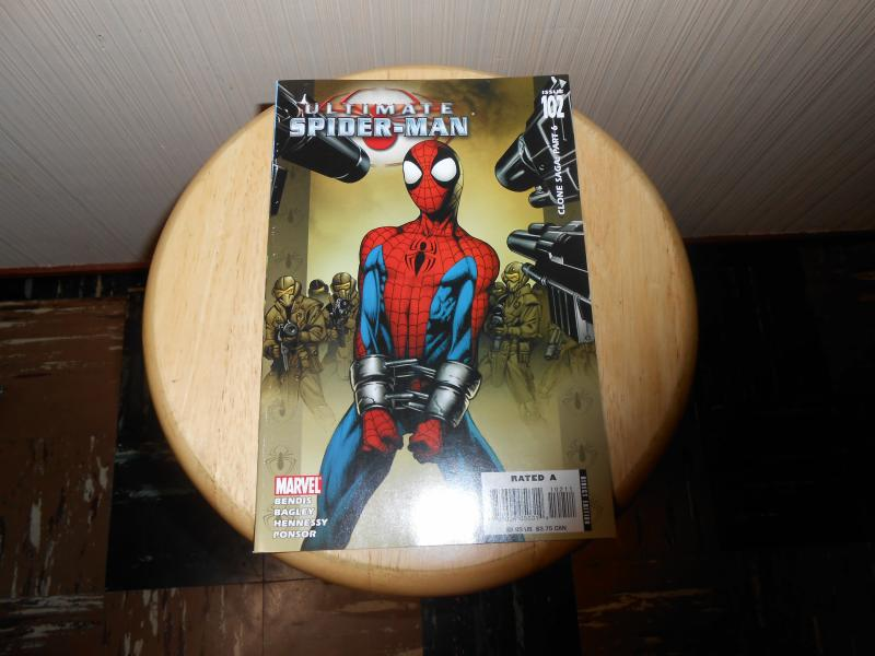 Ultimate Spider-Man (2000) #102 Jan 2007 Cover price $2.99 Marvel