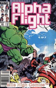 ALPHA FLIGHT (1983 Series)  #29 NEWSSTAND Near Mint Comics Book