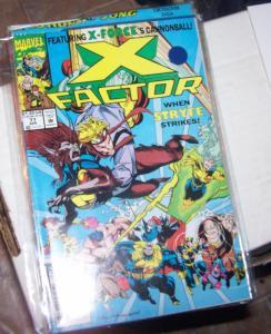 X-Factor  77  APR 1992 marvel    GUIDO HAVOC POLARIS  STRYFE STRIKES
