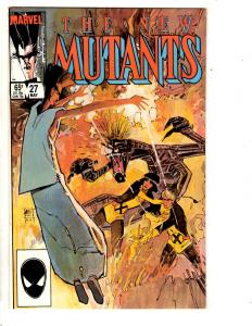 New Mutants # 27 NM- Marvel Comic Book Legion X-Men Wolverine Storm Sunspot SS10
