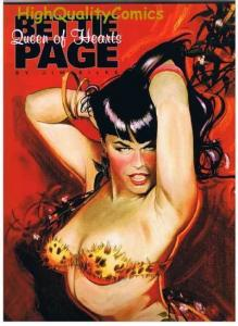 BETTIE PAGE Queen of Hearts, NM+, Betty, Signed Jim Silke, more BP in store