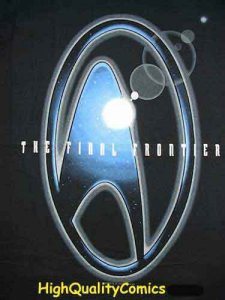 STAR TREK T-SHIRT, New, Large, 1996, Final Frontier, Sci-fi