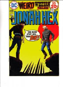 Weird Western Tales #24 (Jun-73) VF+ High-Grade Jonah Hex