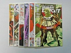 Human Target (DC 2010 3rd Series) Set:#1-6, 8.0/VF - 2010