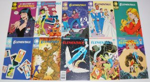 Elementals vol. 2 #1-26 VF/NM complete series - bill willingham - comico set lot