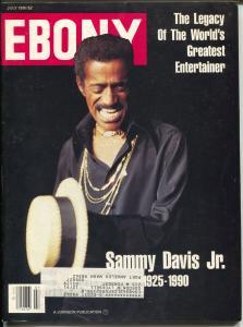 Ebony 7/1990-Sammy davis Jr-Milli Vanilli-Alfre Woodward-FN