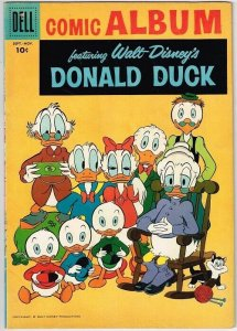 Dell Comic Album  #3  featuring Donald Duck