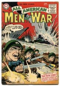 All-American Men Of War #24 1955-DC Silver Age war FN+