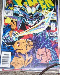 X MEN  # 22  1993 MARVEL  psylocke +revanche + betsy braddock silver samuri