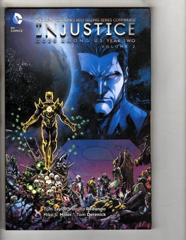 Injustice Year 2 Two Vol 2 Two Dc Comics Graphic Novel Comic