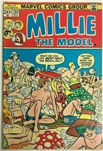 MILLIE THE MODEL#205 FN 1973 MARVEL BRONZE AGE COMICS