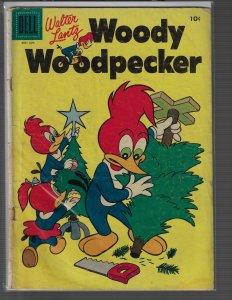Woody Woodpecker #34 (Dell, 1955) GD