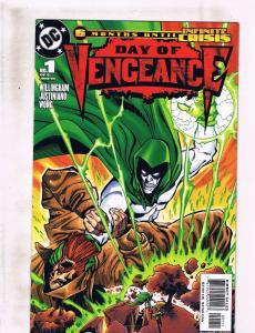 Lot of 6 Day of Vengeance DC Comic Books #1 2 3 4 5 6 KS3