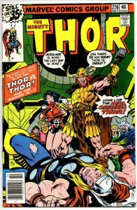 THOR #276 VF/NM God of Thunder Buscema Mjolnir 1966 1978, more Thor in store