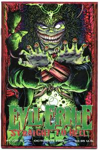 EVIL ERNIE Straight to Hell #1, NM+, Zombie, Lady Death, more Chaos in store
