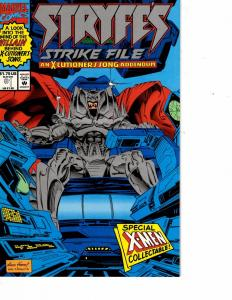 Lot Of 2 Marvel Comic Books Stryfes Strike File #1 and Sleepwalker #3  ON5
