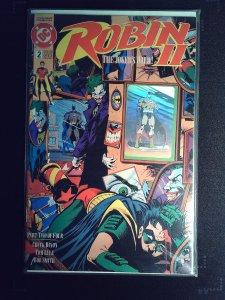 Robin II The Joker's Wild! #2 Cover A Batman Hologram Variant (1991)