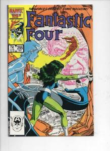 FANTASTIC FOUR #295 NM- She Hulk, Human Torch, 1961 1986 Marvel,more FF in store