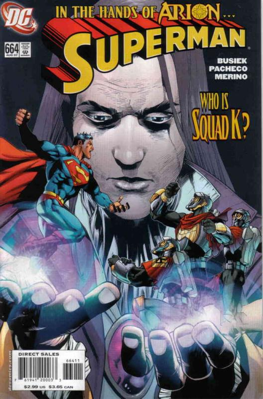 Superman (2nd Series) #664 FN DC - save on shipping - details inside
