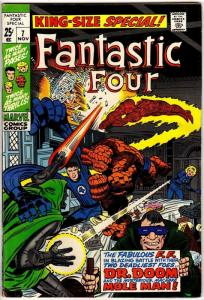 FANTASTIC FOUR ANN  7 VG-F Nov. 1969 COMICS BOOK