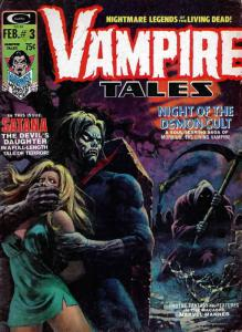 Vampire Tales #3 FN; Marvel | save on shipping - details inside