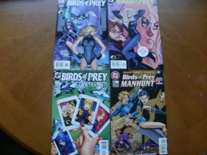 4 DC Comic: BIRDS OF PREY #65 Sensei #66 Student #82 Long Count #4 Oracle Canary
