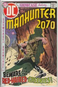 Showcase #93 (Sep-70) NM- High-Grade Manhunter 2070