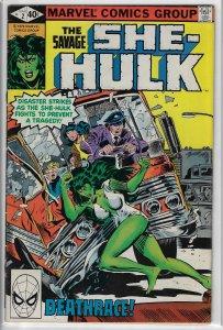 The Savage She-Hulk #2 (Marvel, 1980) Mid-Grade