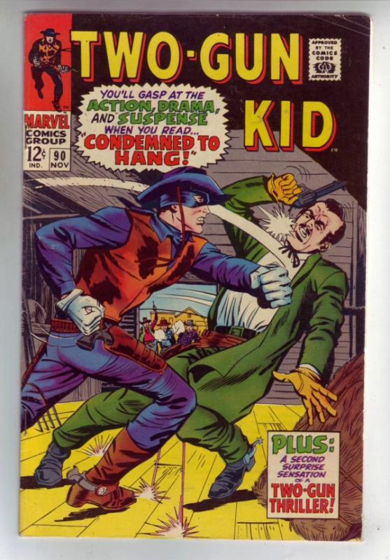 Two-Gun Kid #90 (Nov-67) FN/VF+ Mid-High-Grade Two-Gun Kid