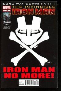 Invincible Iron Man #516 (2012)