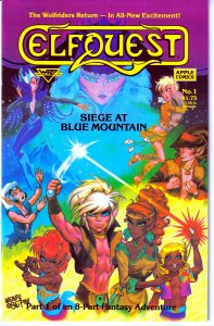 Elfquest-Siege on Blue Mountain#1,2,3,4,5,6,7,8  Plus 25th Anniversary Special