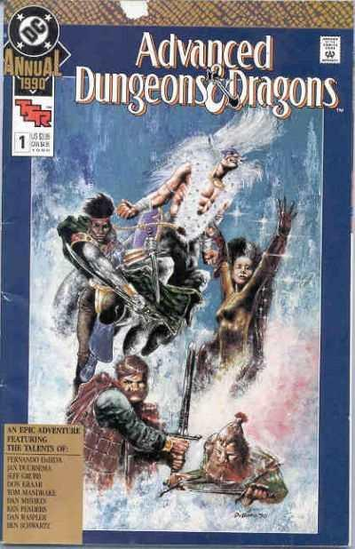 Advanced Dungeons & Dragons Annual #1, NM (Stock photo)