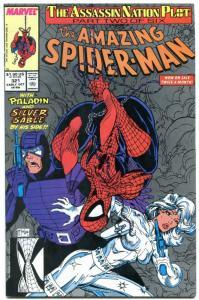 AMAZING SPIDER-MAN #321 1989-MARVEL COMICS-MCFARLANE- VF/NM