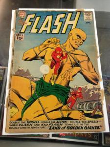 The Flash 120 Fair 1st App. Golden Giants (May.1961)