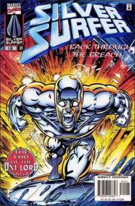 Marvel SILVER SURFER (1987 Series) #121 FN+