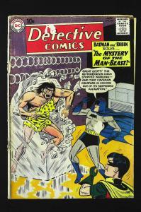 Detective Comics (1937 series) #285, Good (Actual scan)