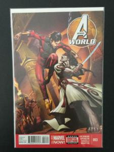 AVENGERS WORLD #3, NM, Hickman, Marvel, 2014, more in store