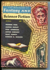 Magazine of Fantasy & Science Fiction 4/1959-Mercury-EMSH mystery cover-Pohl-...