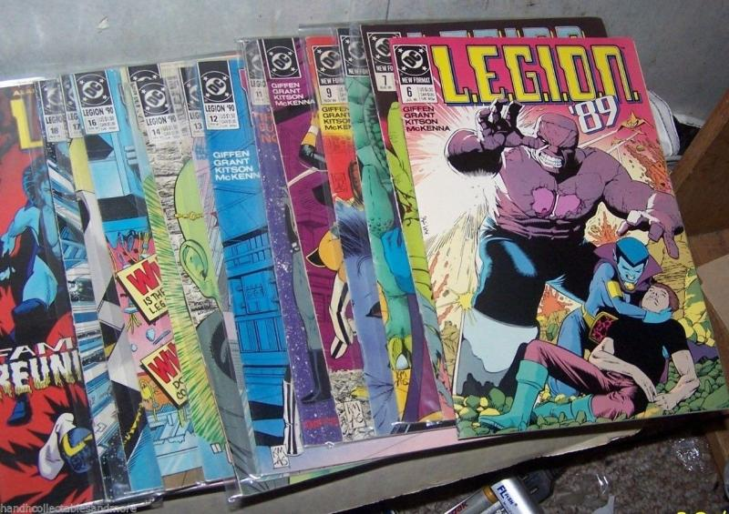 LEGION comics LOT 25 ISSUES # 6-45 dc pre legion of superheroes