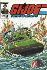 G.I. Joe European Missions #4, NM-