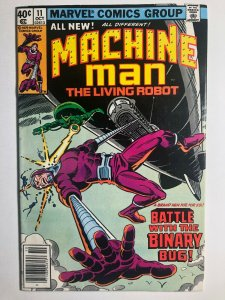 Marvel  MACHINE MAN #11 Battle with the Binary Bug! F/VF (A447)