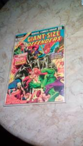 Giant Size Defenders #2 1974 GD-VG 3.0 (IN TIME FOR THE HOLIDAYS)