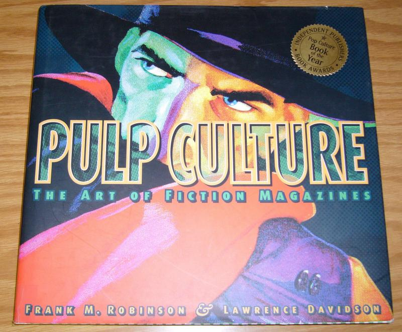 Pulp Culture: the Art of Fiction Magazines HC VF/NM the shadow - hardcover 2001