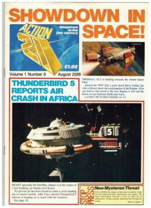 ACTION 21 8 (8/20/89) F GERRY ANDERSON GLOSSY MAGAZINE:
