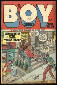 Boy Comics #39 FA/GD 1.5