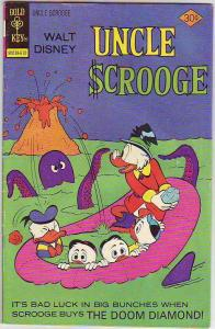 Uncle Scrooge, Walt Disney #133 (Oct-76) FN- Mid-Grade Uncle Scrooge