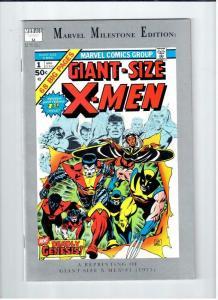 X-MEN Giant Size #1, Marvel Milestone Edition, NM, 1991, Wolverine, Storm