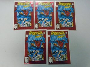 Spider-Man 2099 #1 Lot of 5 9.4 Near Mint (1992)
