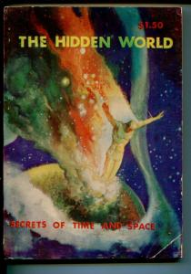 HIDDEN WORLD SPRING 1963-BIZARRE PULP-ROBERT GIBSON JONES COVER-vg
