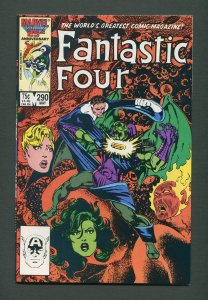 Fantastic Four #290  / 9.2 NM-  /  May 1986